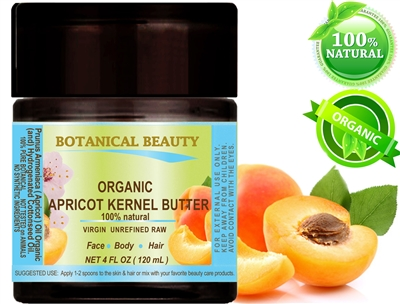 Botanical Beauty APRICOT KERNEL OIL BUTTER ORGANIC