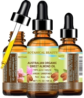 Australian Organic Sweet Almond Oil Botanical Beauty