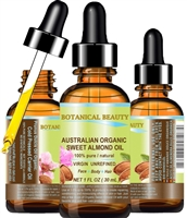 Australian Organic Almond Oil Botanical Beauty