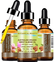 Botanical Beauty Australian Organic Almond Oil