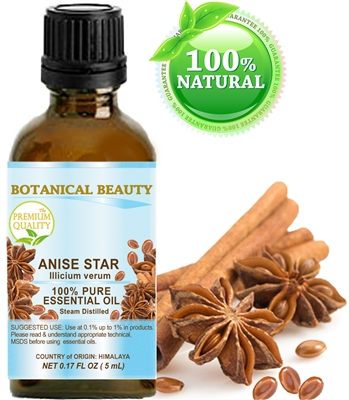 Botanical Beauty ANISE STAR Essential Oil