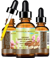 Botanical Beauty ORGANIC SWEET ALMOND OIL