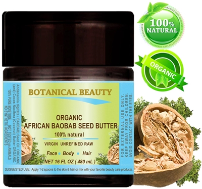 Botanical Beauty BAOBAB SEED BUTTER ORGANIC