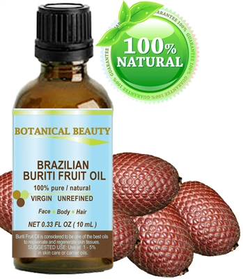 Brazilian Buriti Fruit Oil Botanical Beauty
