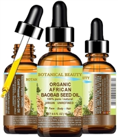 Botanical Beauty African ORGANIC BAOBAB SEED Oil