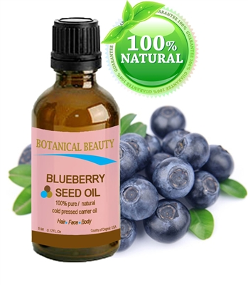 BLUEBERRY SEED OIL 100% Pure Unrefined