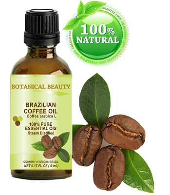 Coffee Essential Oil Brazilian Botanical Beauty