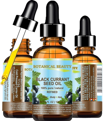 Black Currant Seed Oil Botanical Beauty