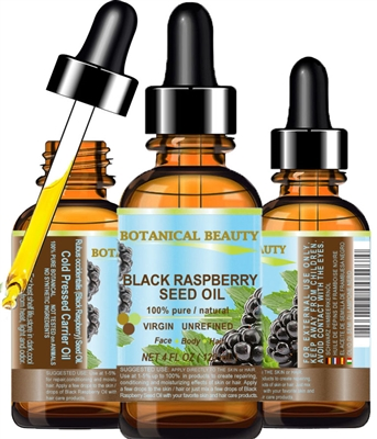 Black Raspberry Seed Oil Botanical Beauty