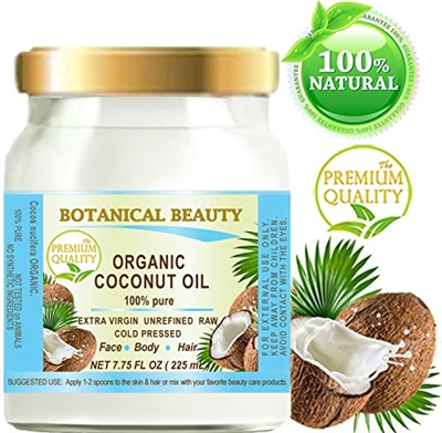 Coconut Oil Wild Growth Organic Botanical Beauty
