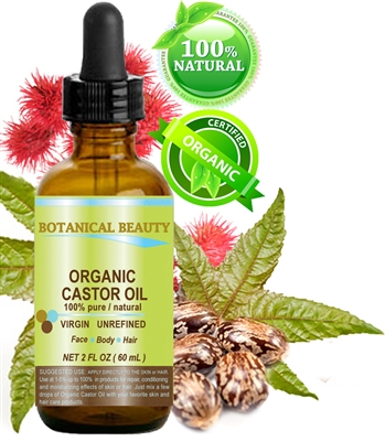 Organic Castor Oil Botanical Beauty