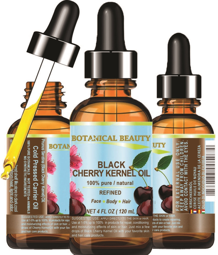 Cherry Kernel Oil, 100% Pure Organic, Cherry Seed,  Extra Virgin,  Unrefined, Cold Pressed Neostrata Youthful Glow Sample Size