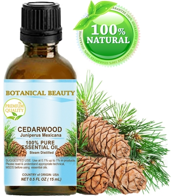 Botanical Beauty CEDAR WOOD Essential Oil