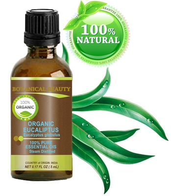 Botanical Beauty ORGANIC EUCALYPTUS Essential Oil