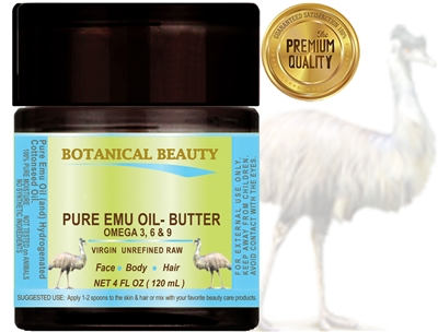 Botanical Beauty PURE EMU OIL  BUTTER