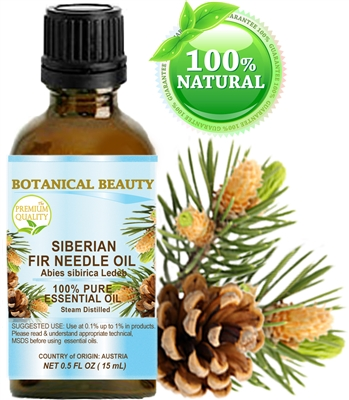 Botanical Beauty Siberian FIR NEEDLE Essential Oil