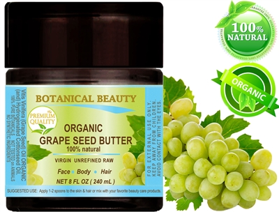 Botanical Beauty ORGANIC GRAPE SEED OIL BUTTER