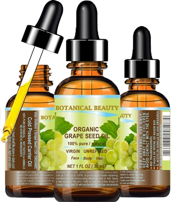 Botanical Beauty GRAPE SEED OIL