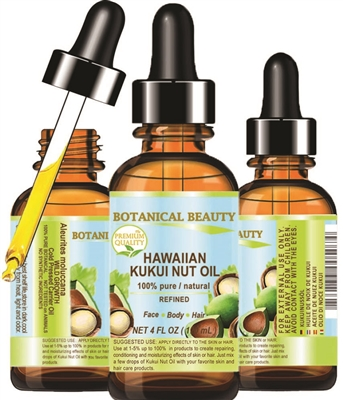 Hawaiian Kukui Nut Oil Botanical Beauty