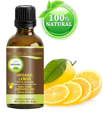 Botanical Beauty ORGANIC LEMON Essential Oil