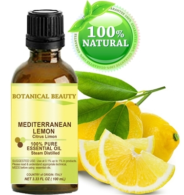 Botanical Beauty LEMON Essential Oil