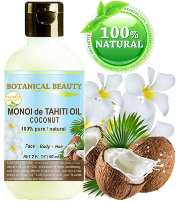 Botanical Beauty MONOI DE TAHITI Oil Coconut