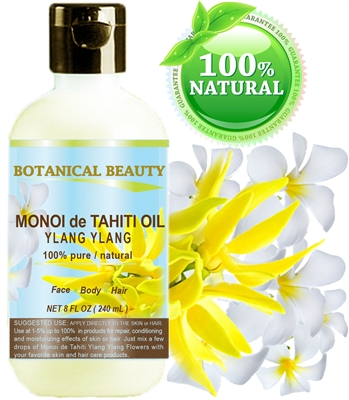 Botanical Beauty MONOI de TAHITI OIL YLANG YLANG
