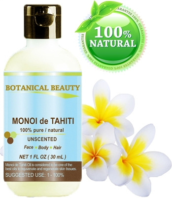 Botanical Beauty  MONOI de TAHITI Oil