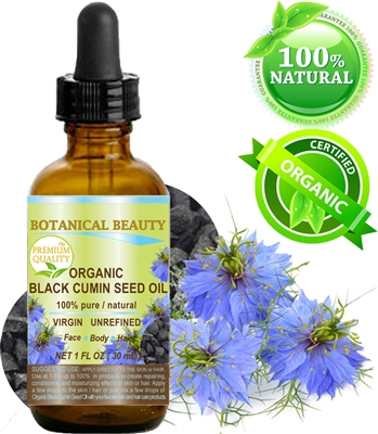 Organic Black Cumin Seed Oil Botanical Beauty