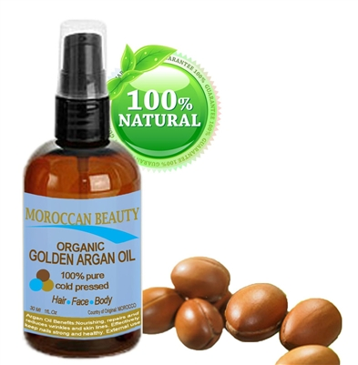 Organic Golden Argan Oil Botanical Beauty