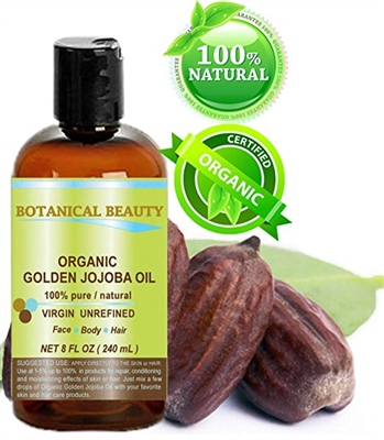 Botanical Beauty ORGANIC JOJOBA OIL
