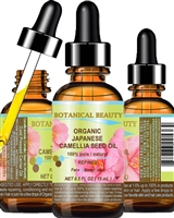 Botanical Beauty ORGANIC CAMELLIA SEED OIL