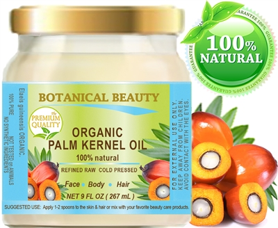 Palm Kernel Oil Organic Botanical Beauty