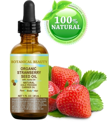 Strawberry Seed Oil Organic Botanical Beauty