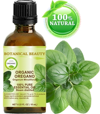 Botanical Beauty ORGANIC OREGANO Essential Oil