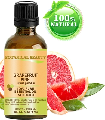 Botanical Beauty PINK GRAPEFRUIT Essential Oil