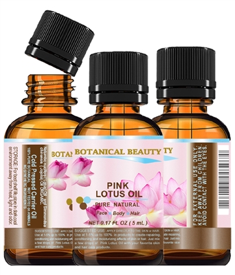 Botanical Beauty PINK LOTUS OIL
