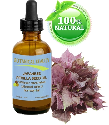 Japanese Perilla Seed Oil Botanical Beauty