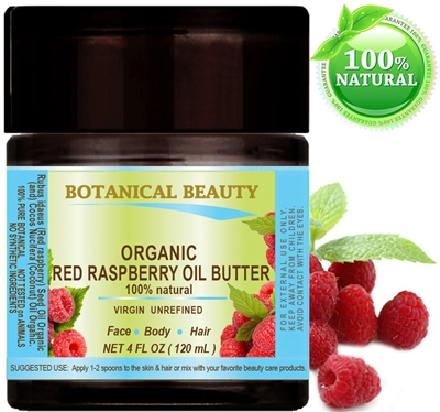 ORGANIC RED RASPBERRY SEED OIL BUTTER