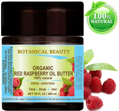 Red Raspberry Seed Oil Butter Organic