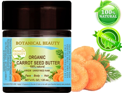 Botanical Beauty CARROT SEED BUTTER organic