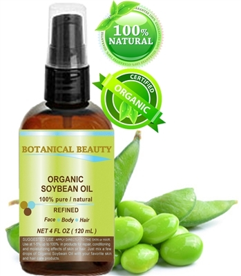 Botanical Beauty ORGANIC SOYBEAN Oil