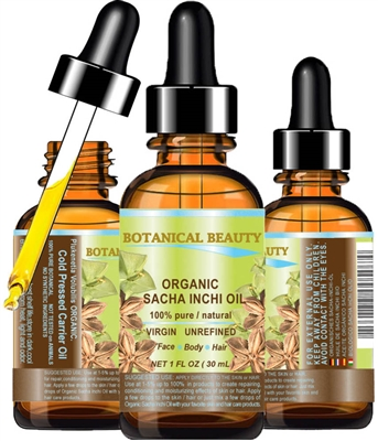 Sacha Inchi Oil Organic Botanical Beauty