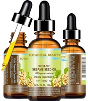 Botanical Beauty ORGANIC SESAME OIL