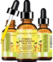 Vitamin C Moisturizing Face Oil Organic Botanical Beauty