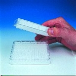 UNIFILTER, 384 well, 100 µl, 0.45 µm hydrophillic PVDF, clear polystyrene, filter bottom with long drip director, 50/pk