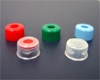 Cap Pak, Snap 11mm Cap BLUE, w/PTFE/Rubber Septa