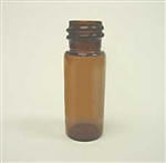 Vials, Screw 2mL 8mm SM Amber 100/pkg