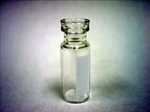 Vials, Snap Seal, 2mL 11mm Wide Mouth Clear Glass Marking Spot