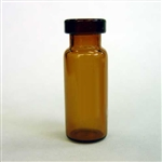 Crimp Vials, WM, 12x32mm, Amber, 11mm finish